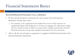 Financial Statements For Non Profit Organizations Exle by A Trustee S Guide To Nonprofit Finance