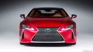 lexus red 2017 lexus lc 500 coupe red front hd wallpaper 14