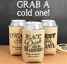 personalized wedding koozies personalized wedding koozies easy wedding 2017