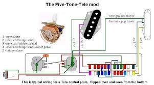5 tone tele mod telecaster guitar forum