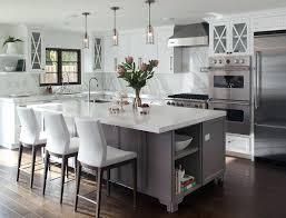 kitchen with center island l shaped kitchen with island stove gray footed center island with