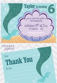 mermaid birthday party pigskins u0026 pigtails