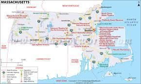 road map massachusetts usa buy reference map of massachusetts