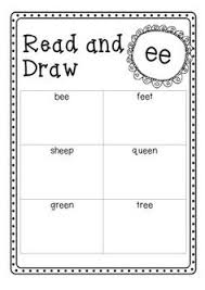 glued sounds ink and unk sorting activity spelling practice