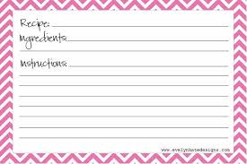 evelyn kate designs recipe cards free printable