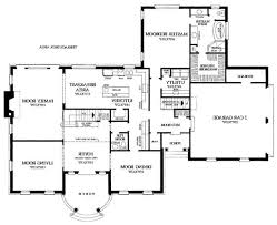 2 story house floor plans with basement split bedroom plan the