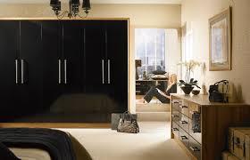 Premier Duleek Wardrobe Doors In High Gloss Black By HOMESTYLE - Bedroom cupboard doors
