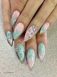 nail arts half moon nail designs fresh 35 fearless stiletto