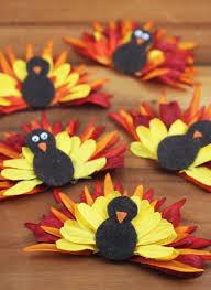 flower turkeys napkin rings thanksgiving and napkins