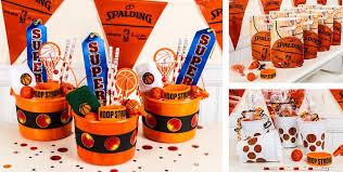 basketball party favors whistles bounce balls paddle balls