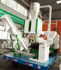 mpl400 small wood pelleting plant with wheels exported to south africa