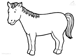 free horse coloring pages ngbasic