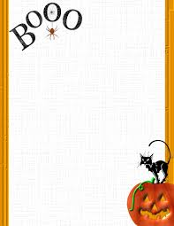 halloween computer paper halloween 1 free stationery com template downloads
