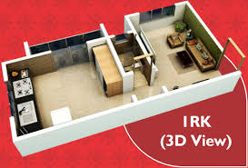415 sq ft 1 bhk 1t apartment for sale in sonu studio high 5 neral