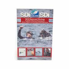 sdi rescue diving manual with knowledge quest iti online