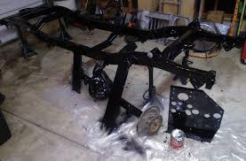 jeep frame project flatfender the frame
