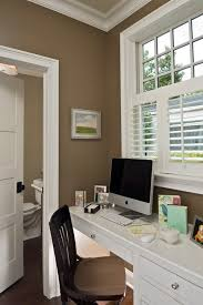 what is the lt brown paint color on the walls in the desk area
