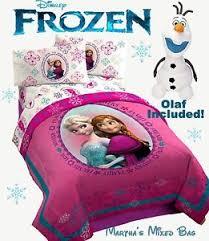 Frozen Comforter Set Full Disney Frozen Princess Anna Elsa Pink Twin Full Size