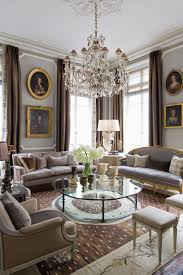 Parisian Living Room Decor квартира в париже по проекту жана луи денио Apartments