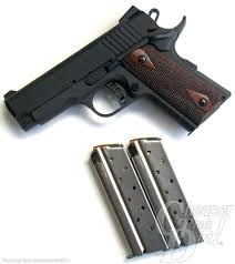 the 1911 handgun in 9mm