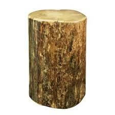 Tree Trunk Table End U0026 Side Tables You U0027ll Love Wayfair