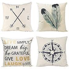 Factory Direct Home Decor Cheap Pillow Cushion Cover Buy by Amazon Com Phantoscope New Living Blue U0026green Decorative Throw