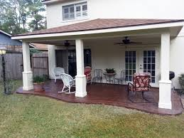 Outdoor Patio Extensions Patio Covers Pergolas Tiki Huts Decorative Concrete