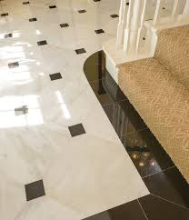 marble foyer traditional dallas by tile