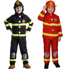 Fireman Costume Firefighter Costume Ebay
