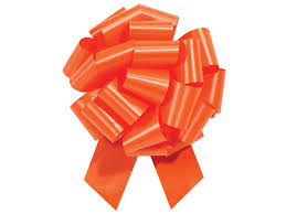 shrink wrap bags with pull bows orange pull bows 5 5