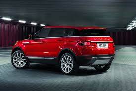 red land rover land rover fully reveals 5 door range rover evoque before la show