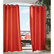 Where To Buy Outdoor Curtains Buy Tangerine Curtains From Bed Bath U0026 Beyond