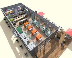 plan cuisine restaurant normes restaurants de plage démontable construction modulaire modul