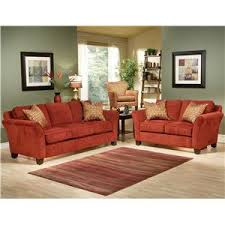 Peyton Leather Sofa Robert Michael Peyton Contemporary Love Seat With 2 Toss Pillows