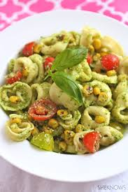 meatless monday summery cheese tortellini pasta salad with fresh