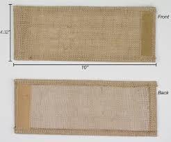 Burlap Curtains With Fringe Burlap Chair Sash With Lace 7 X 108 Bchairsashwlace 7x108 10oz