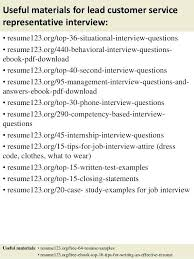 sample resume customer service representative no experience