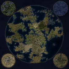 Fantasy World Map by World On A Cog Fantastic Maps