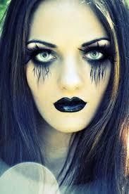 Blue Black Halloween Costumes Halloween Makeup Women 60 Creepy Makeup Ideas Family