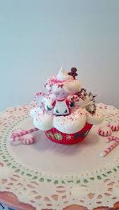 63 best christmas fake cupcakes images on pinterest fake