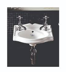 Period Bathroom Fixtures by Wall Mount Sinks