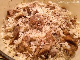 south your mouth neck bones and rice