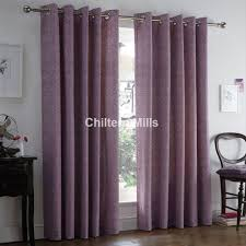 Thermal Curtain Liner Eyelet by Hanworth Heather Thermal Eyelet Curtains Chiltern Mills