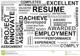 Job Resume Words by Resume Powerful Words Royalty Free Stock Photos Image 26082748