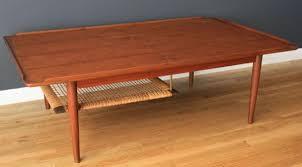 Teak Coffee Table Vintage Teak Coffee Table