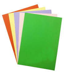 kids tab multicolor art and craft paper 40 pieces buy online at