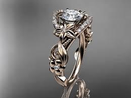 unique wedding ring sets wedding rings 14kt gold diamond unique engagement