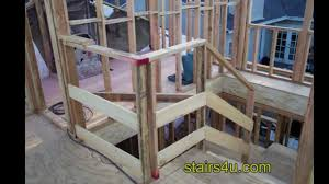 Temporary Handrail Systems Contractor Secret For Building A Temporary Job Site Stair Safety