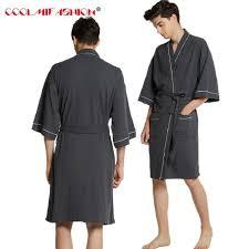 robe de chambre coton homme nouveaux amants coton serviette peignoir hommes kimono gaufre