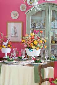 Easy Easter Decorations To Make At Home by Spring Table Settings And Centerpieces Southern Living